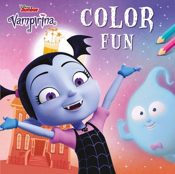 Colouring Book Vampirina Color Fun 22 Cm
