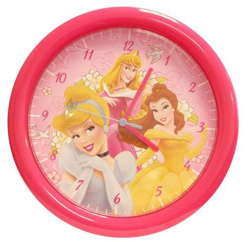 Disney Klok Princes Roze 30 cm