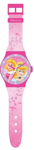 Disney Klok Princess Roze
