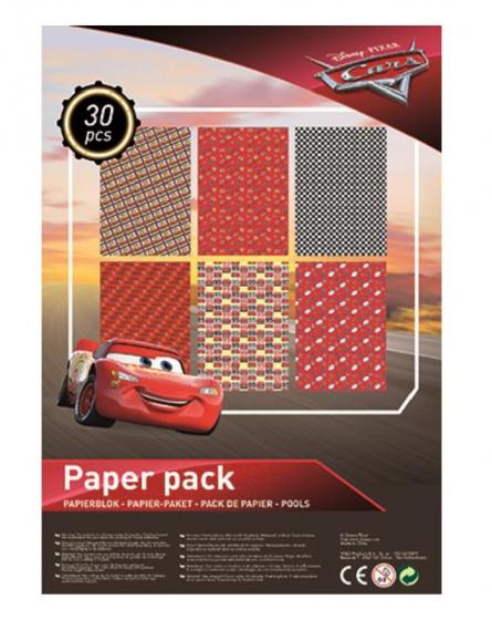 Disney knutselpapierset A4 Cars 21 x 29 cm papier 30 stuks