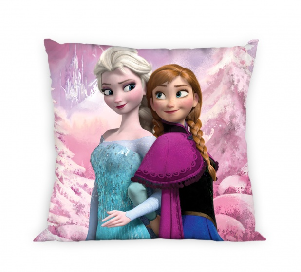 Disney kussen frozen 35 x 35 cm roze internet toys - Verpakking kussen x ...