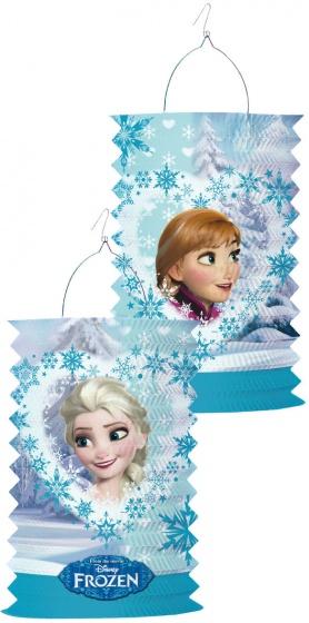 Disney lampion Frozen Elsa & Anna blauw 28 cm