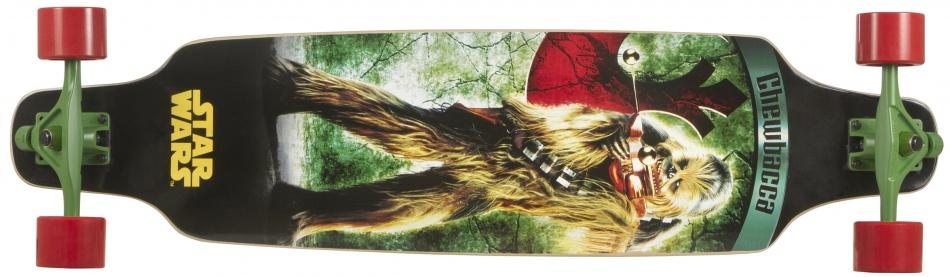 Disney Longboard Star Wars Chewbakka Groen