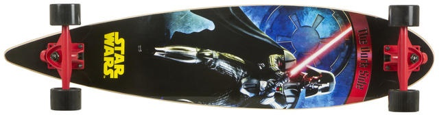 Disney Longboard Star Wars Darkside Zwart