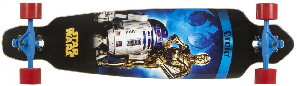 Disney Longboard Star Wars Droids Zwart