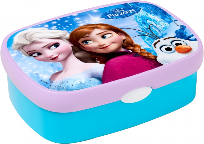 Disney Lunchbox Frozen Mepal sisters forever blauw