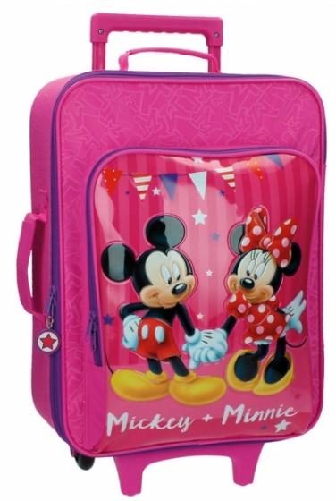 Disney Mickey en Minnie soft trolley 50 x 35 x 20 cm
