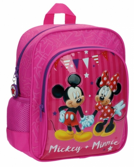 Disney Mickey & Minnie Adaptable Backpack pink