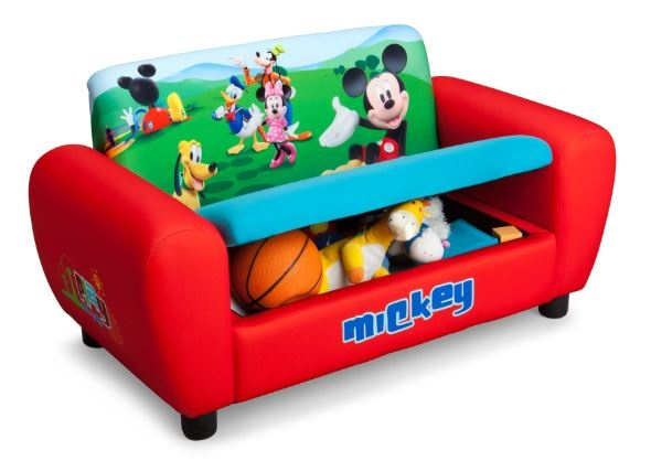 Disney Mickey Mouse bank met opbergruimte 43.2 x 81,3 x 42 cm