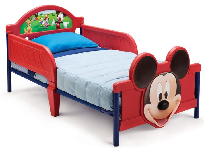 Disney Mickey Mouse bed rood 146 x 73 x 66cm