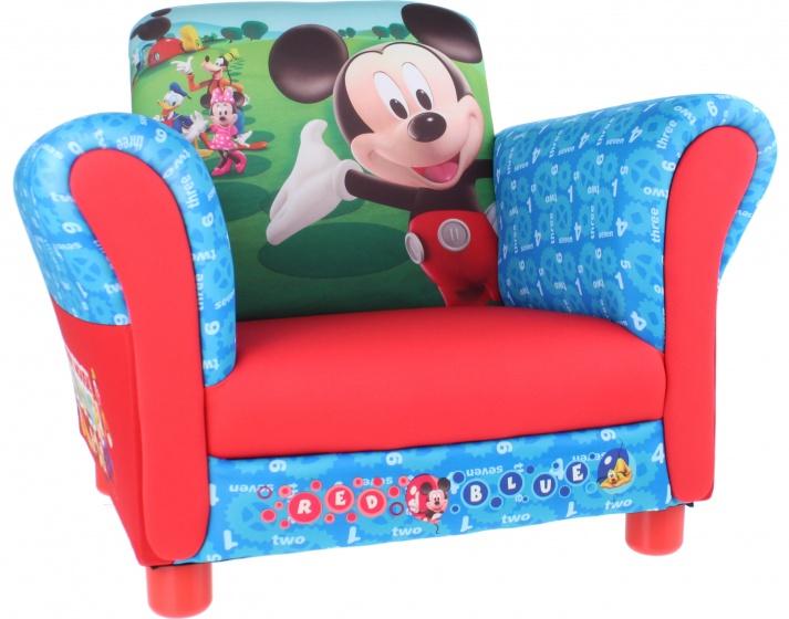 Disney Mickey Mouse Gestoffeerde Stoel rood 58 x 40 x 45 cm kopen