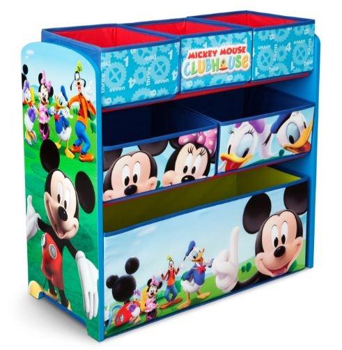 Disney Mickey Mouse Multi Bin Organizer blauw