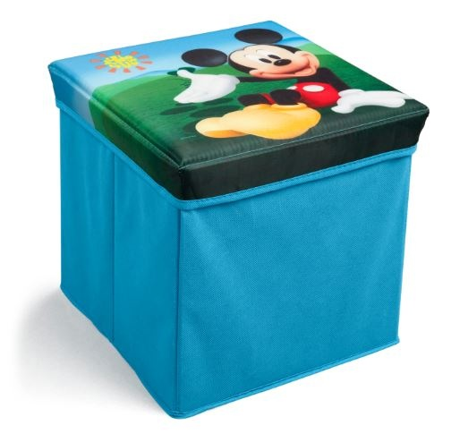 Disney Mickey Mouse Opbergmand blauw 29 x 29 x 57 cm