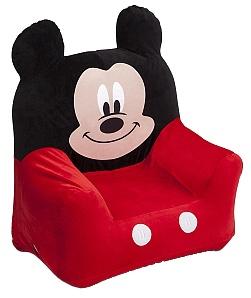 Disney Mickey Mouse Opblaasbare Stoel Rood / Zwart
