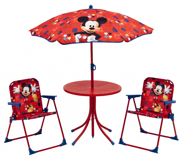 Disney Mickey Mouse Outdoor Patio Set Rood