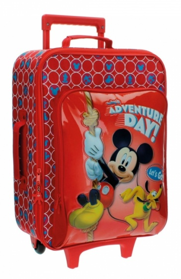 Disney Mickey Mouse soft trolley 50 x 35 x 20 cm