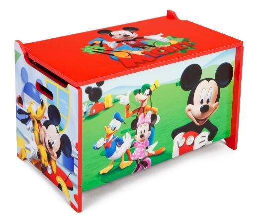 Disney Mickey Mouse Speelgoed Opbergkist 63 x 40 x 34 cm