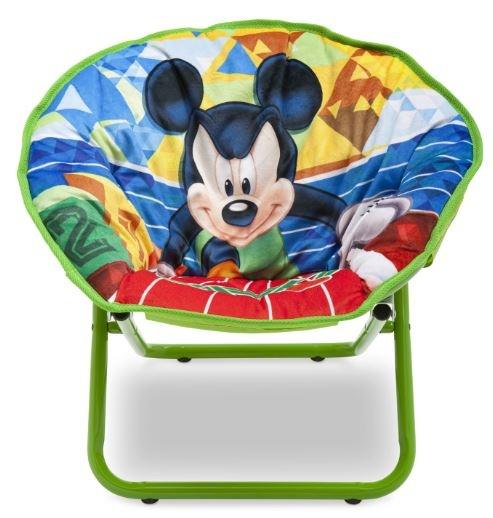 Disney Mickey Mouse Stoel Saucer groen 51,5 x 44,5 x 46 cm
