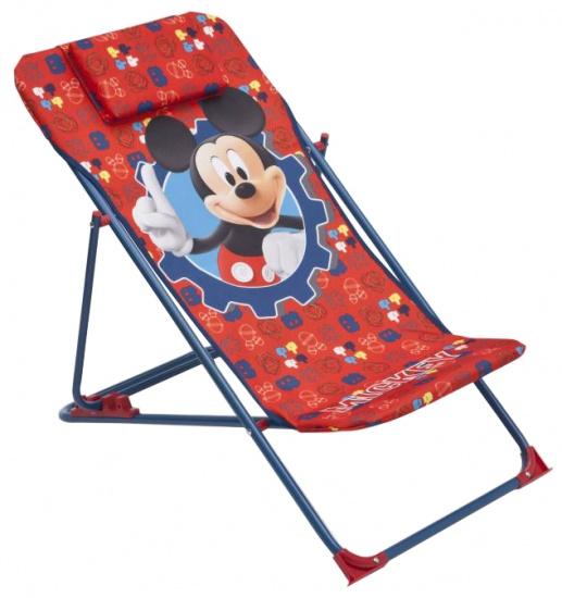 Disney Mickey Mouse Strandstoel Rood / Blauw