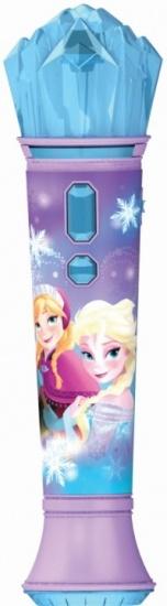 Disney microfoon Frozen meisjes paars 15 cm