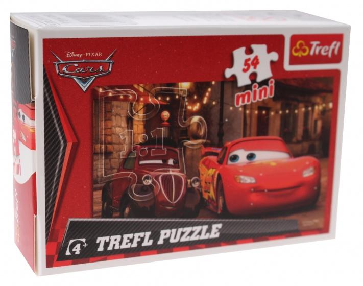 Trefl mini puzzel Cars Doc Hudson 54 stukjes