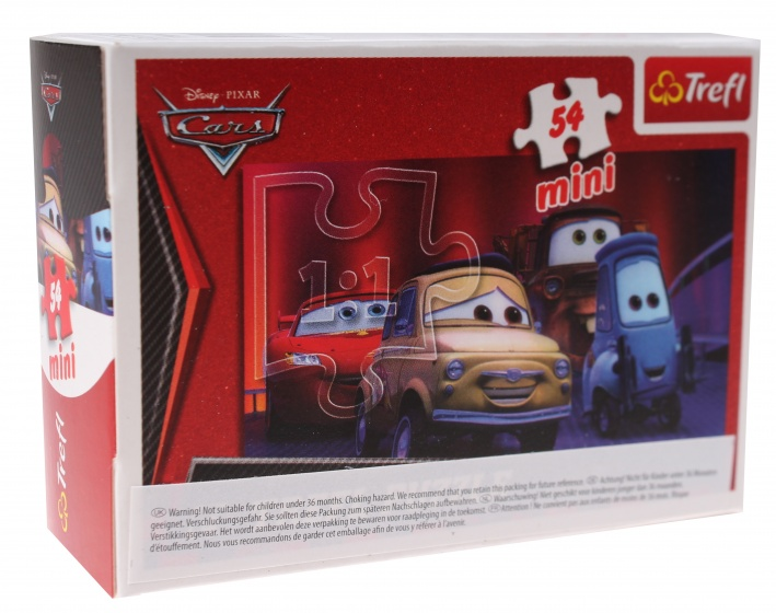 Trefl mini puzzel Cars Sally Carrera 54 stukjes