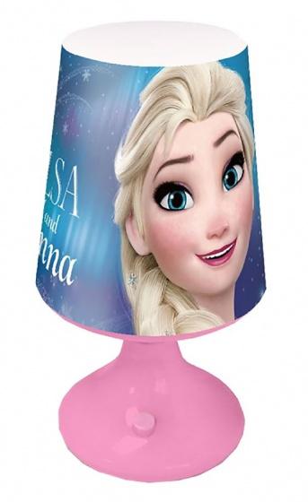 Disney mini tafellamp Frozen 18 cm roze/blauw kopen