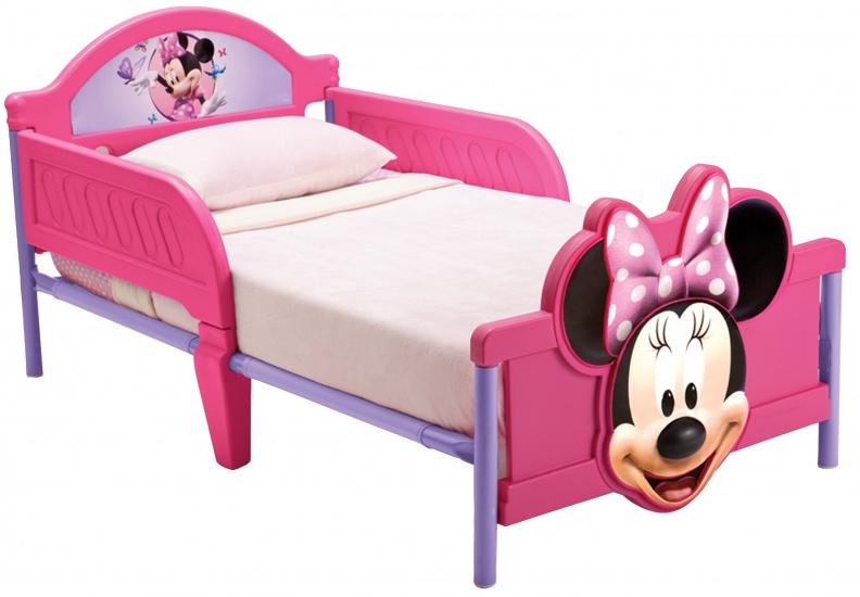 Disney Minnie Mouse 3D Kleuter Bed Roze