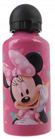 Disney Minnie Mouse aluminium drinkfles 600 ml roze