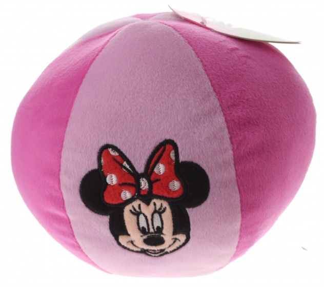 Disney Minnie Mouse bal pluche roze 20 cm