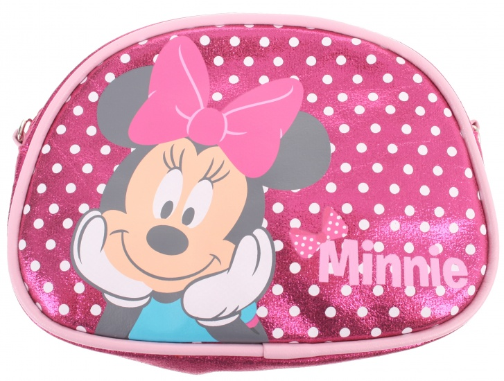 Disney Minnie Mouse beautycase roze 17 x 12,5 x 5 cm