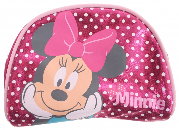 Disney Minnie Mouse beautycase roze 17 x 14 x 6 cm
