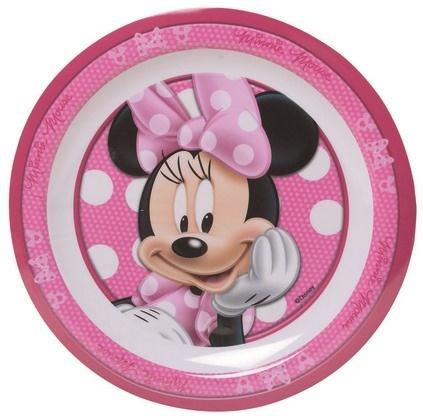 Disney Minnie Mouse bord roze/wit