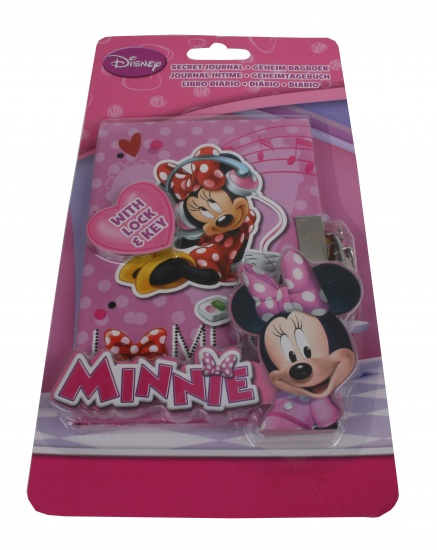 Disney Minnie Mouse Dagboek met slot