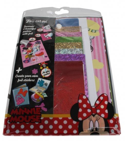 Disney Minnie Mouse Foil Art Set