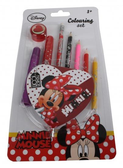 Disney Minnie Mouse Fun Kleurset 10 delig