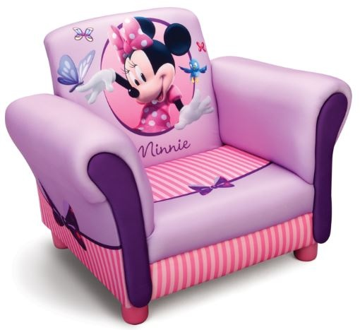 Disney Minnie Mouse Gestoffeerde Stoel Roze 58 x 40 x 45 cm
