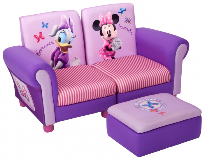 Disney Minnie Mouse Gestoffeerde Stoelen Set 3 Delig
