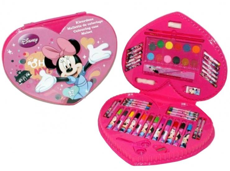 Disney Minnie Mouse kleurset 57 delig Hartvorm