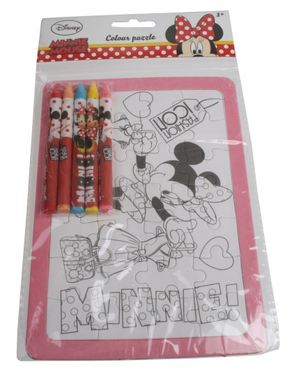 Disney Minnie Mouse Kleurpuzzel