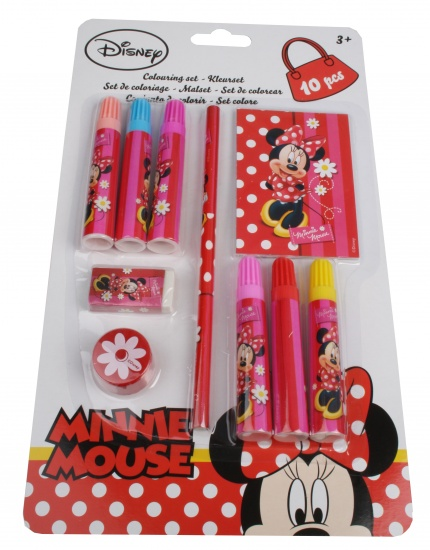 Disney Minnie Mouse Kleurset 10 delig