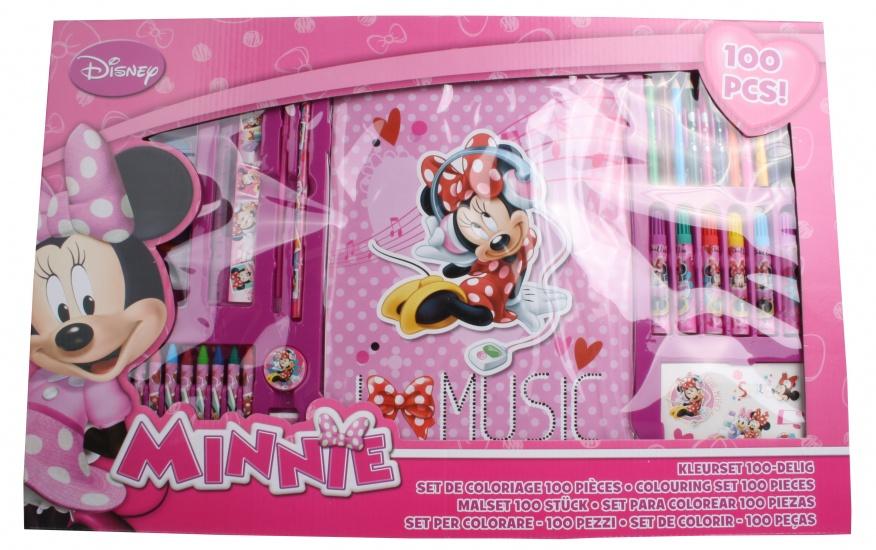 Disney Minnie Mouse Kleurset 100 delig