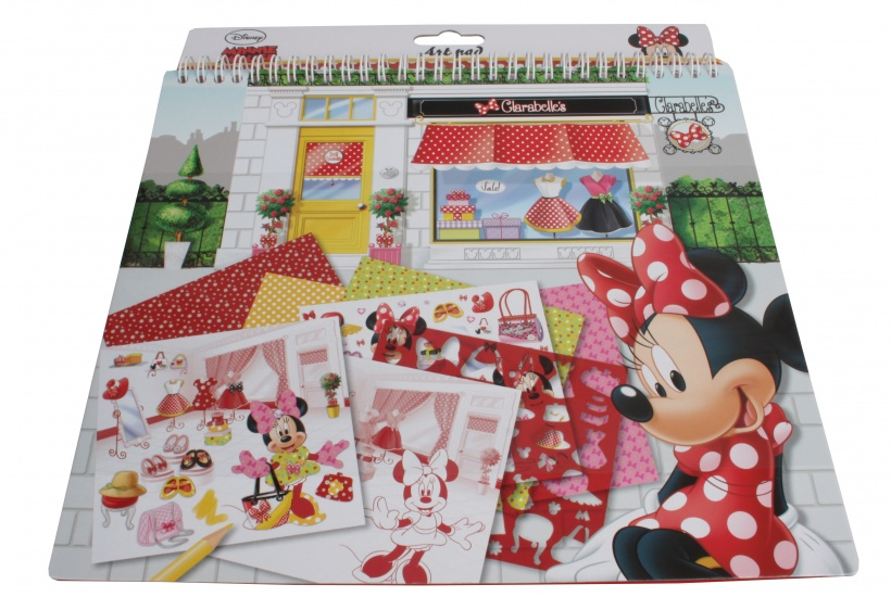 Disney Minnie Mouse Knutselboek met stickers