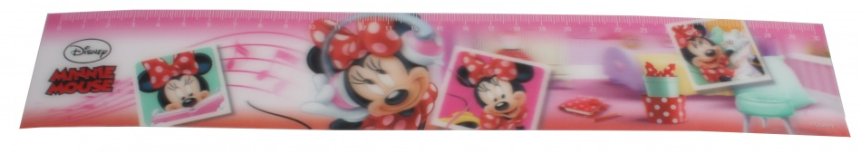 Disney Minnie Mouse Liniaal 3D