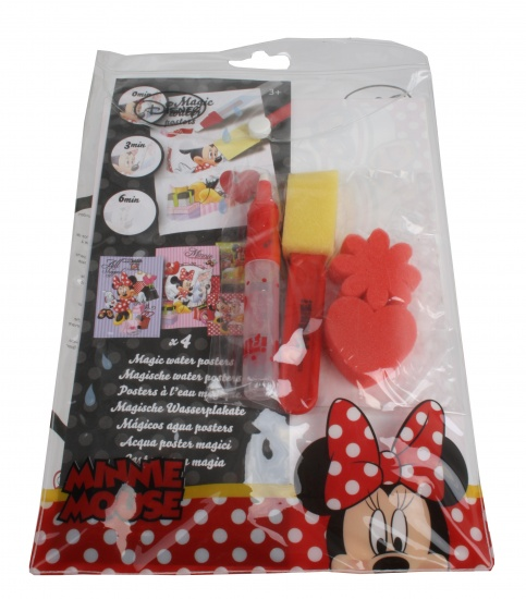 Disney Minnie Mouse Magic Water Poster Set