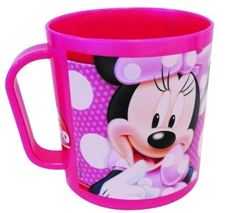 Disney Minnie Mouse mok 350 ml roze