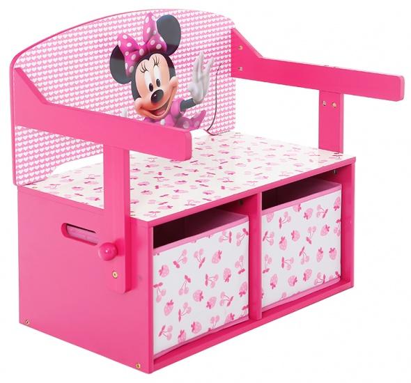 Disney Minnie Mouse Opbergbankje Met Bureau