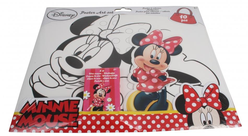 Disney Minnie Mouse Poster Art Set