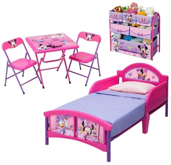 Disney Minnie Mouse Slaapkamer Set 5 Delig