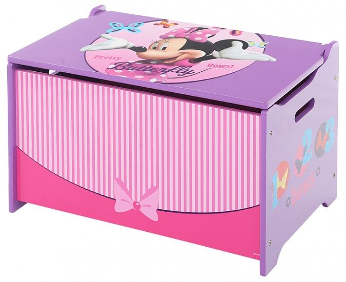 Disney Minnie Mouse Speelgoed Opbergkist Roze